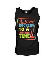 Autism Rocking To a Different Tune Guitar  Unisex Tank thumbnail