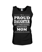 Proud Daughter Of A Freaking Awesome Mom T-S Unisex Tank thumbnail