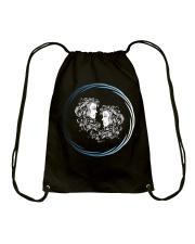 Gemini Zodiac Fundamental Drawstring Bag thumbnail