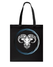 Aries Zodiac Fundamental Tote Bag thumbnail