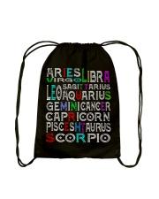 Never Mind Drawstring Bag back
