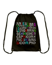 Never Mind Drawstring Bag front