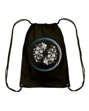 Pisces Zodiac Fundamental Drawstring Bag thumbnail