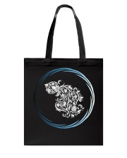 Aquarius Zodiac Fundamental Tote Bag thumbnail