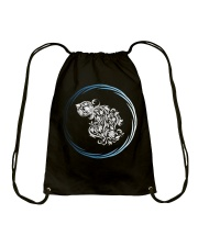 Aquarius Zodiac Fundamental Drawstring Bag thumbnail