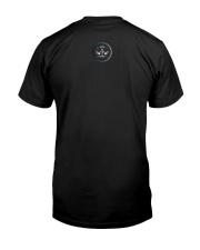 Libra Zodiac Fundamental Classic T-Shirt back