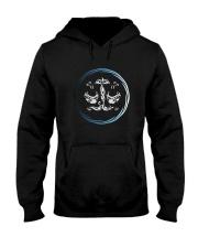 Libra Zodiac Fundamental Hooded Sweatshirt thumbnail