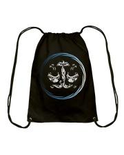Libra Zodiac Fundamental Drawstring Bag thumbnail