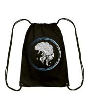 Capricorn Zodiac Fundamental Drawstring Bag thumbnail