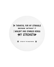 Struggle and Strength Circle Cutting Board thumbnail