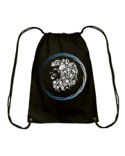 Leo Zodiac Fundamental Drawstring Bag tile