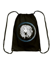 Virgo Zodiac Fundamental Drawstring Bag thumbnail