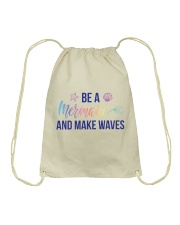 Be A Mermaid Drawstring Bag thumbnail