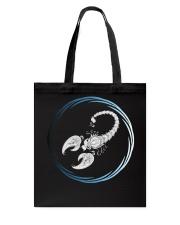 Scorpio Zodiac Fundamental Tote Bag thumbnail