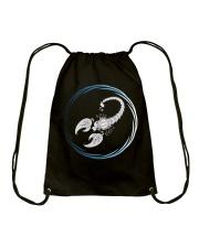 Scorpio Zodiac Fundamental Drawstring Bag thumbnail