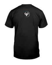 Taurus Zodiac Fundamental Classic T-Shirt back