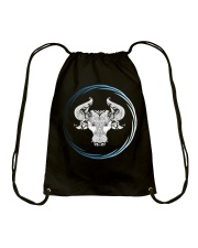 Taurus Zodiac Fundamental Drawstring Bag thumbnail