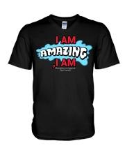 Paul Santisi Gear I Am Amazing I Am V-Neck T-Shirt thumbnail