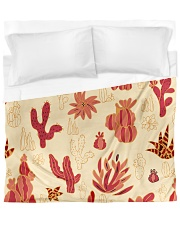 Red Cactus Duvet Cover tile