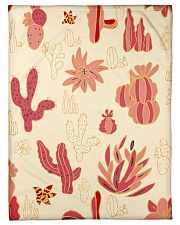"Red Cactus Small Fleece Blanket - 30"" x 40"" thumbnail"