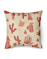 Red Cactus Indoor Pillow tile
