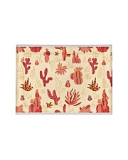 Red Cactus Pillow Sham tile