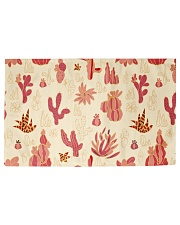 Red Cactus Woven Rug - 3' x 2' thumbnail