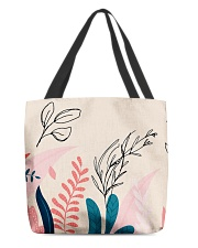 Abstract Floral All-over Tote thumbnail