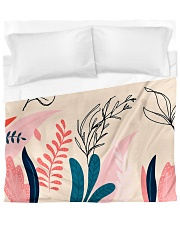 Abstract Floral Duvet Cover - King thumbnail