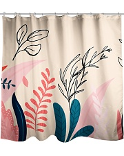 Abstract Floral Shower Curtain thumbnail