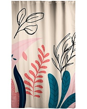 Abstract Floral Window Curtain - Blackout thumbnail