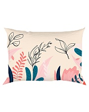 Abstract Floral Rectangular Pillowcase thumbnail