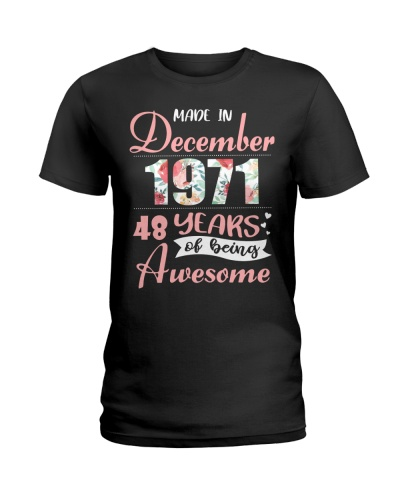 Anniversary Gifts December 1971