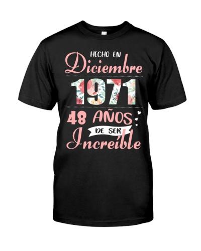 IMPRESIONANTE FELIZ DICIEMBRE 1971