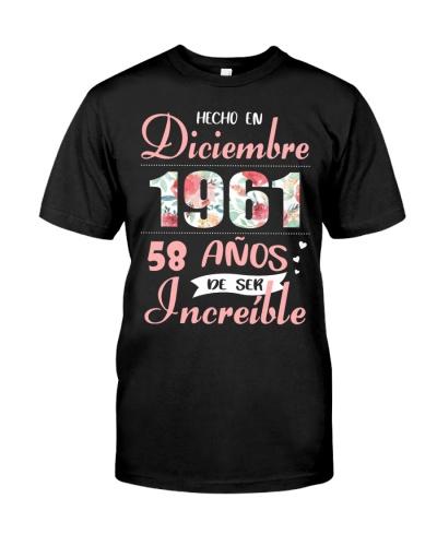 Diciembre 1961- Increíble