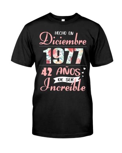 IMPRESIONANTE FELIZ DICIEMBRE 1977