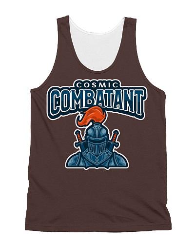 Cosmic Combatant Women and Men's T-Shirt