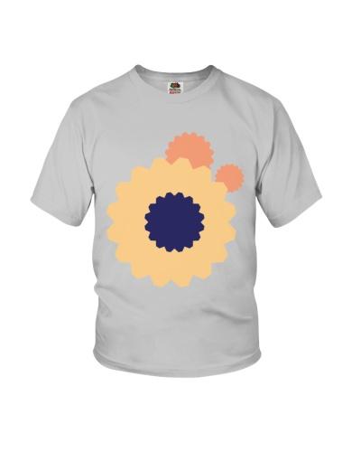colorful flower design shape illustration