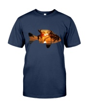 leisure FISHING AND TRAVEL ILLUSTRATION DESIGN Classic T-Shirt thumbnail