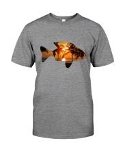 leisure FISHING AND TRAVEL ILLUSTRATION DESIGN Premium Fit Mens Tee thumbnail