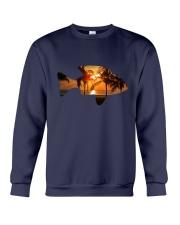 leisure FISHING AND TRAVEL ILLUSTRATION DESIGN Crewneck Sweatshirt thumbnail