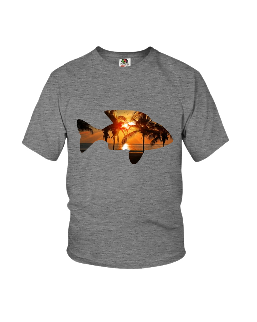 leisure FISHING AND TRAVEL ILLUSTRATION DESIGN Youth T-Shirt