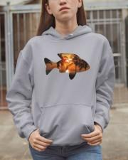 leisure FISHING AND TRAVEL ILLUSTRATION DESIGN Hooded Sweatshirt apparel-hooded-sweatshirt-lifestyle-07