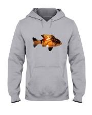 leisure FISHING AND TRAVEL ILLUSTRATION DESIGN Hooded Sweatshirt front