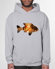 leisure FISHING AND TRAVEL ILLUSTRATION DESIGN Hooded Sweatshirt garment-hooded-sweatshirt-front-03