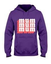 MUM MOM typography text illustration design Hooded Sweatshirt thumbnail