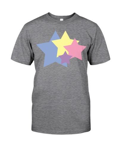 colorful stars illustration design