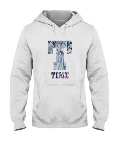 Time the letter T typography illustration design
