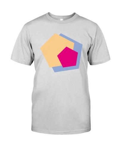 colorful polygonal shape illustration design