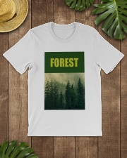 FOREST SHIRT TREE GREEN NATURE PROTECTION and camp Premium Fit Mens Tee lifestyle-mens-crewneck-front-18